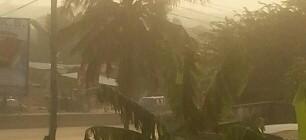 The Harmattan Haze