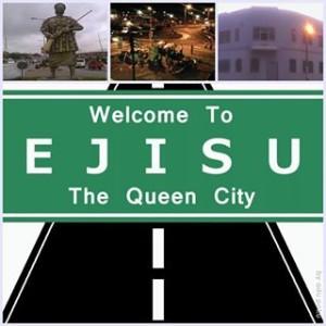 Ejisu Street Sign